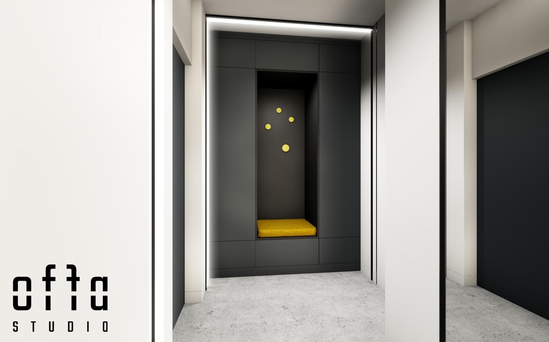 Garderoba przy wejściu