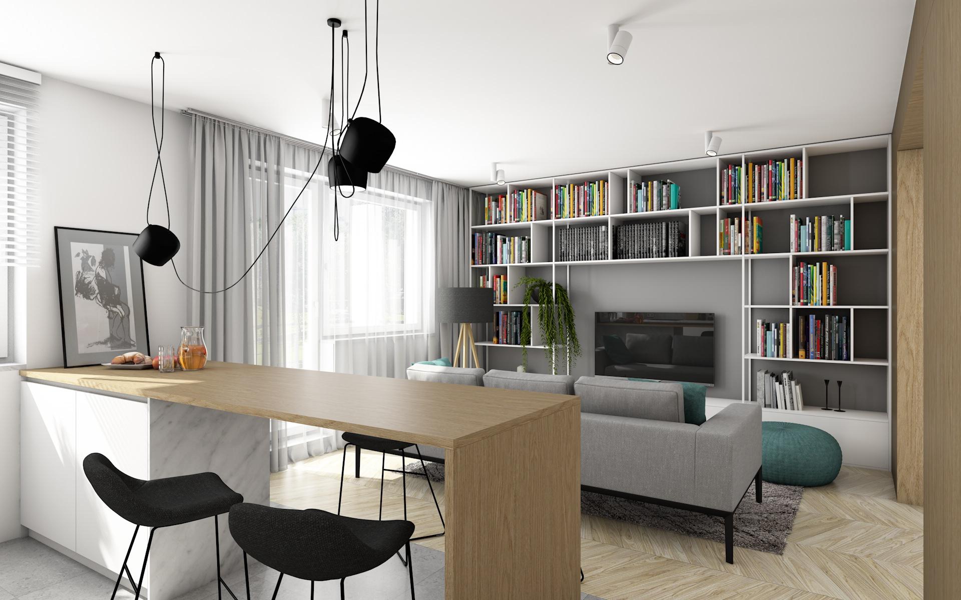 Projekt Wnętrz Mieszkania Poznań Offa Studio